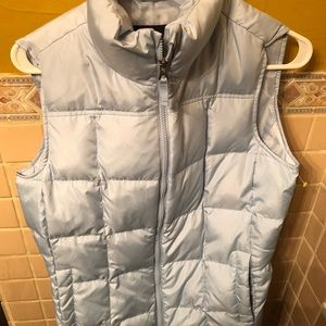 Lands end puffy vest size small. 6-8